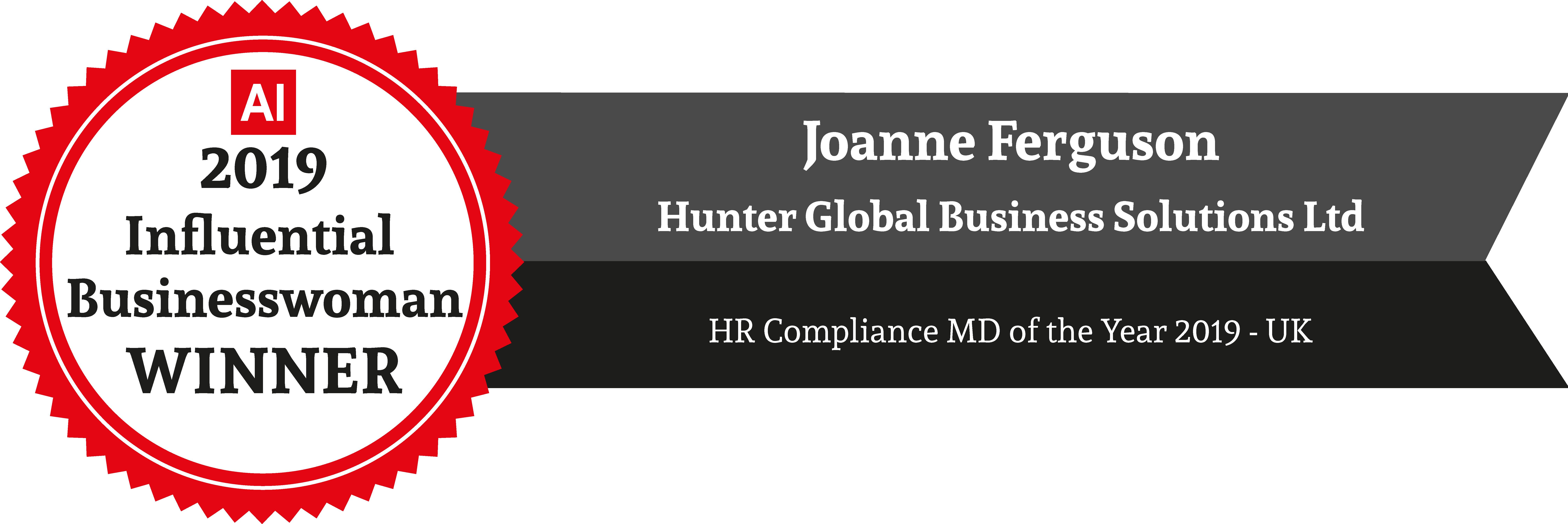 2019 Influential Business Winners Logo